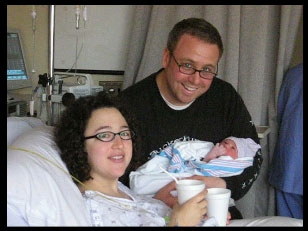 Anna's birthday: In the delivery room