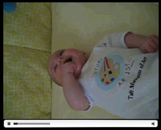 Anna Playing With Her Mobile - 7/26/06